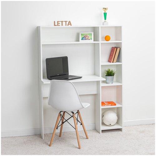 Стол-стеллаж письменный компьютерный рабочий Ультра 1088х1418х400