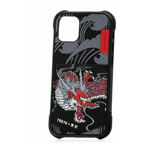 Чехол для Apple iPhone 12 mini Skinarma Densetsu Dragon / Чехол бампер на iPhone / накладка на iPhone / защитный чехол на айфон / защитный чехол / защитный бампер для iPhone / накладка для айфона / противоударный бампер для телефона / чехол на телефон / противоударный чехол для iPhone / бампер айфон / чехол на айфон / защитный чехол / защитный бампер для iPhone / накладка для айфона / противоударный бампер для телефона / чехол на телефон чехол