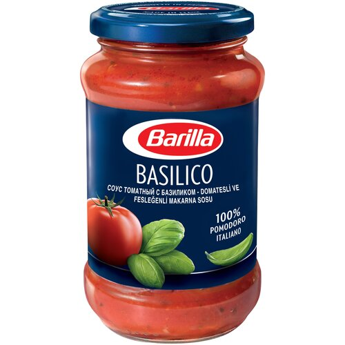 Соус Barilla Basilico, 400 г соус barilla песто пеперончино с базиликом и перцем чили 195 г