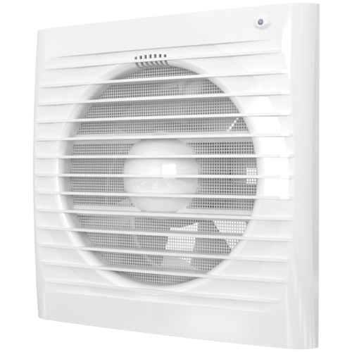 Вытяжной вентилятор ERA ERA 5S ET, белый 16 Вт вытяжной вентилятор era pro storm ywf2e 250 черный 80 вт