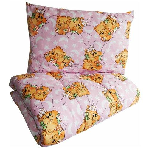Купить Набор Папитто (цвет: розовый, одеяло + подушка), Покрывала, подушки, одеяла