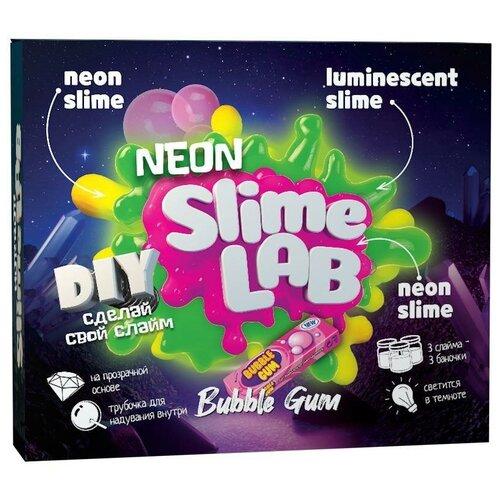 Набор Инновации для детей Slime Lab. Neon Bubble Gum