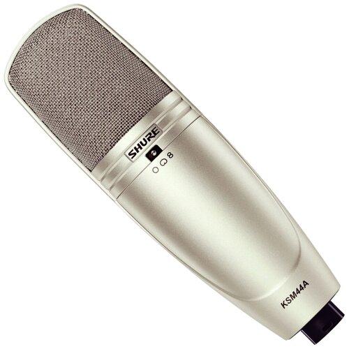 Микрофон Shure KSM44A, шампань