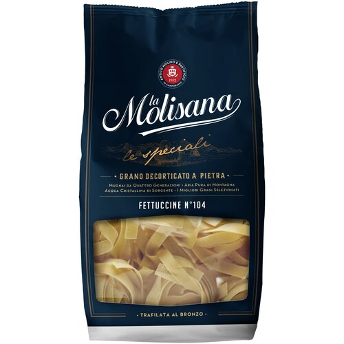 Фото - La Molisana Лапша Fettuccine № 104, 500 г la molisana spa макароны rigatoni 31 500 г