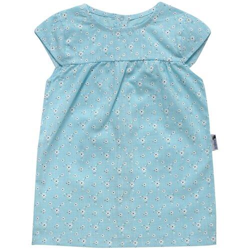 Платье Клякса размер 28-104, голубой