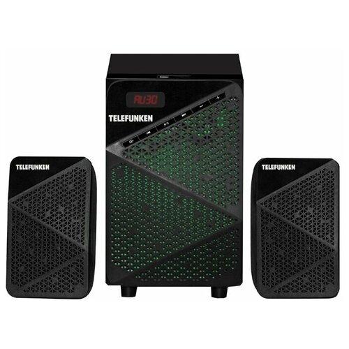 Музыкальные центры TELEFUNKEN TF-MSM2.104(черный)