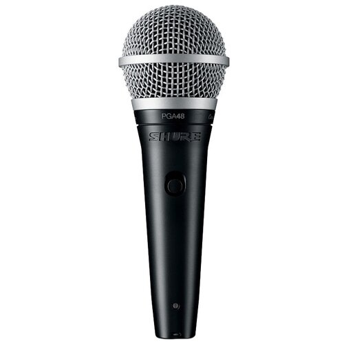 Микрофон Shure PGA48-XLR-E, черный