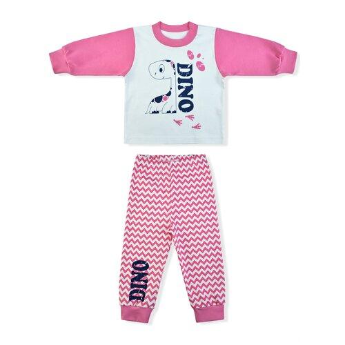 Фото - Пижама LEO размер 98, белый/розовый пижама leo размер 98 красный