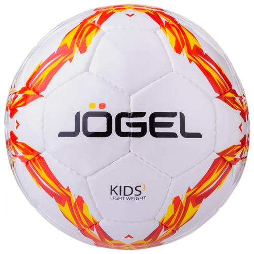 Фото - Футбольный мяч Jogel Kids белый/желтый/оранжевый 3 мяч jogel js 510 kids 3 ут 00012406