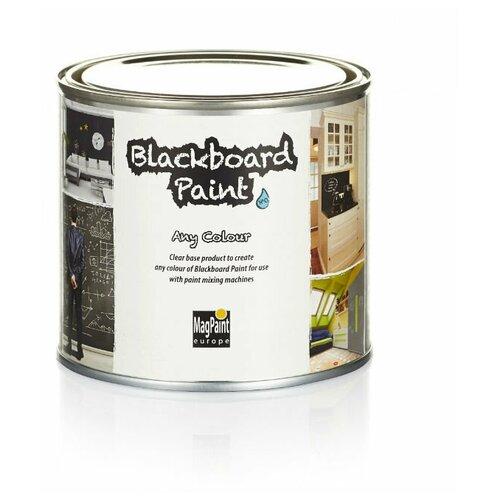 Краска акриловая MAGPAINT Грифельная краска Blackboardpaint для детской матовая прозрачный 1 л