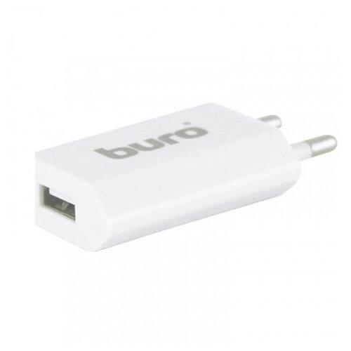 Фото - Зарядное устройство Buro сетевое USB, 1A, универсальное белый TJ-164w сетевое зарядное устройство buro tj 286b smart 4 x usb 5а черный
