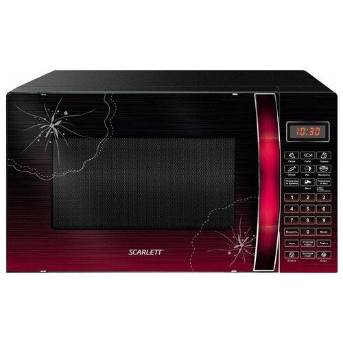 Фото - Микроволновая печь Scarlett SC-MW9020S04D микроволновая печь свч scarlett sc mw9020s09m