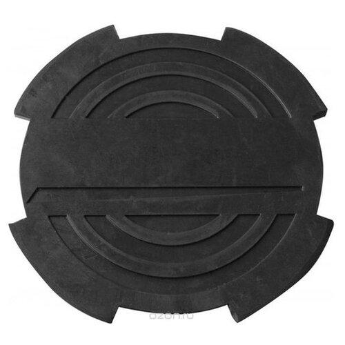 Опора резиновая Ombra, с отбортовкой, для подкатных домкратов, O-116 мм, Н-18 мм (Производитель: OMBRA OHT1003)