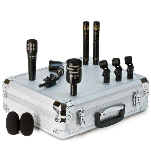 Комплект микрофонов Audix DP QUAD, черный