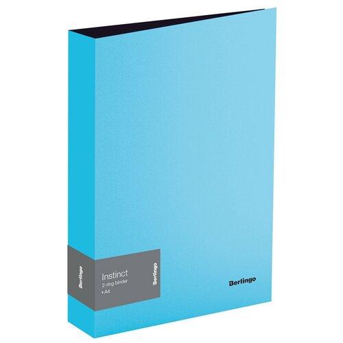 Berlingo Папка на 4-х кольцах Instinct А4, 35 мм, пластик аквамарин berlingo папка на 4 х кольцах color zone а4 35 мм пластик синяя