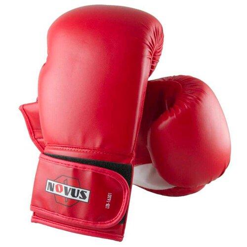 Боксерские перчатки Novus LTB-16301 размер L/XL красный 12 oz