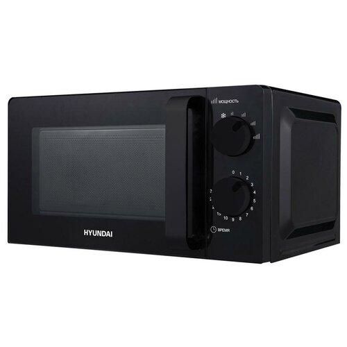 Микроволновая печь Hyundai HYM-M2039, 20л, механическое управление, черная, цена за штуку, 311939