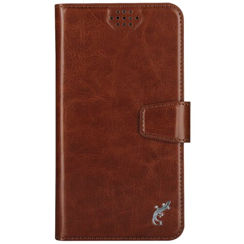Чехол-книжка универсальный G-Case Slim Premium (GG-769/GG-770/GG-771/GG-772/GG-773/GG-774/GG-775/GG-776/GG-777/GG-778) коричневый