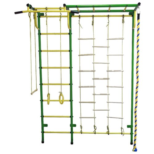 Спортивно-игровой комплекс Пионер С4Л, зеленый/желтый