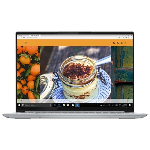 "Ноутбук Lenovo Yoga Slim 7 Pro 14ACH5 (AMD Ryzen 5 5600H/14""/2880x1800/16GB/1TB SSD/AMD Radeon Graphics/Windows 10 Home) 82MS0020RU серебристый"