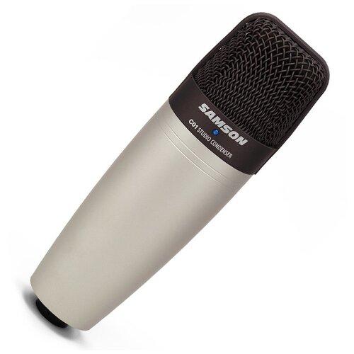Микрофон Samson C01, серебристый