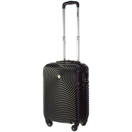 Фото - Чемодан PROFFI Tour Space S 36 л, черный чемодан proffi travel tour fashion 24 pp пластиковый средний 64 5х47х27 желтый