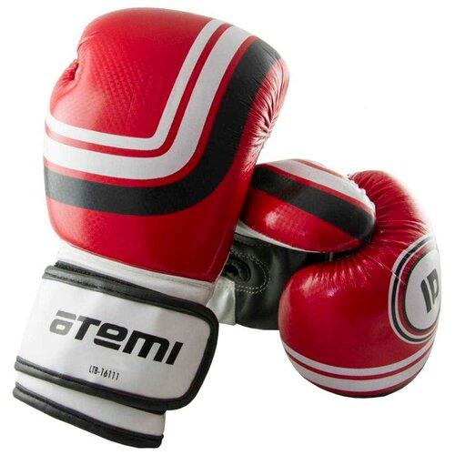 Боксерские перчатки ATEMI LTB-16111 размер S/M красный 6 oz