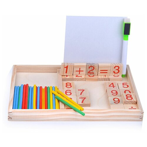 Купить Счетный материал Щепочка D0347, Обучающие материалы и авторские методики