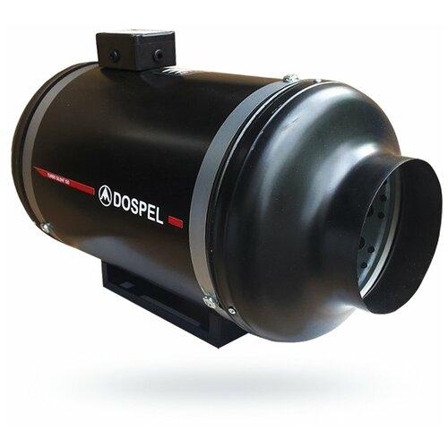 Канальный вентилятор Dospel Turbo Silent 160 черный
