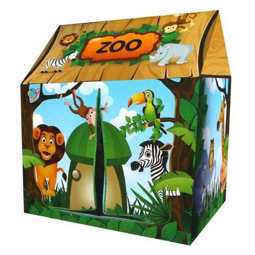 Купить Палатка игровая Наша Игрушка Зоопарк (A999-239), Наша игрушка, Игровые домики и палатки