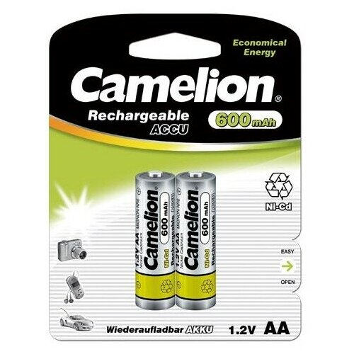 Фото - Аккумулятор бытовой Camelion R6 AA BL2 NI-CD 600mAh 2 шт way ahead 2 pupil s book cd rom