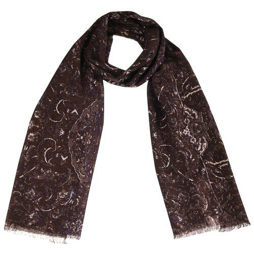 Шарф Dr.Koffer S810623 100% шерсть коричневый
