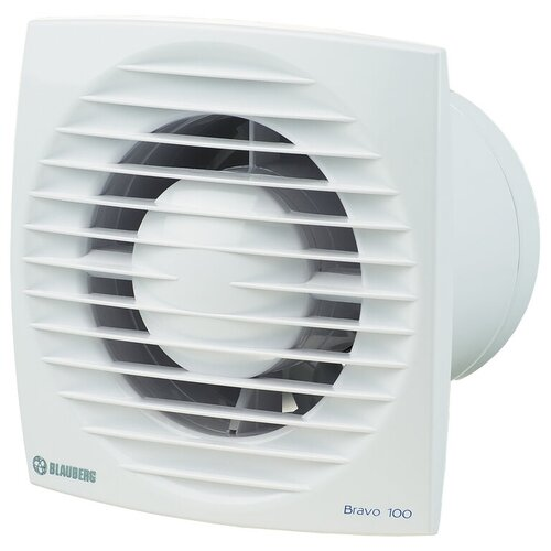 Фото - Вытяжной вентилятор Blauberg Bravo 100 T, белый 14 Вт вытяжной вентилятор blauberg bravo 125 белый 16 вт