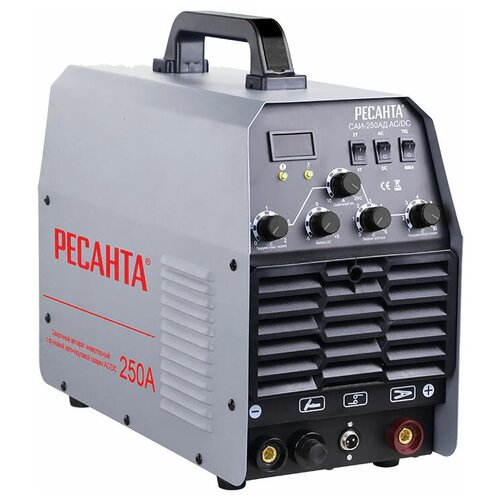 Сварочный аппарат инверторного типа РЕСАНТА САИ-250АД AC/DC TIG, MMA сварочный аппарат инверторного типа ресанта саи 190 краги mma