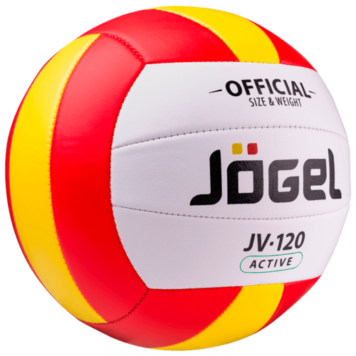 Волейбольный мяч Jogel JV-120 красный/желтый/белый