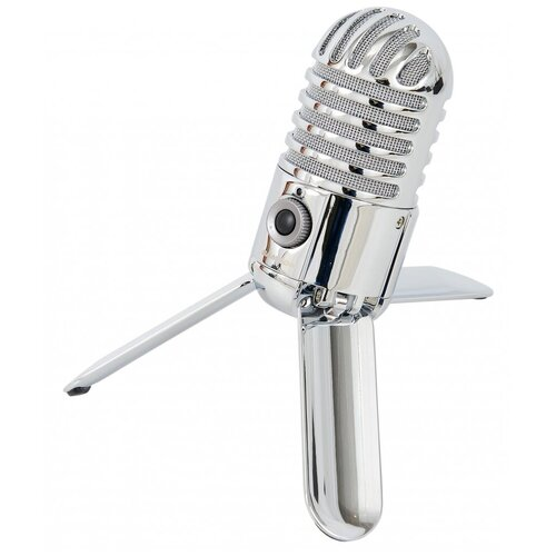 Микрофон Samson Meteor USB, серебристый