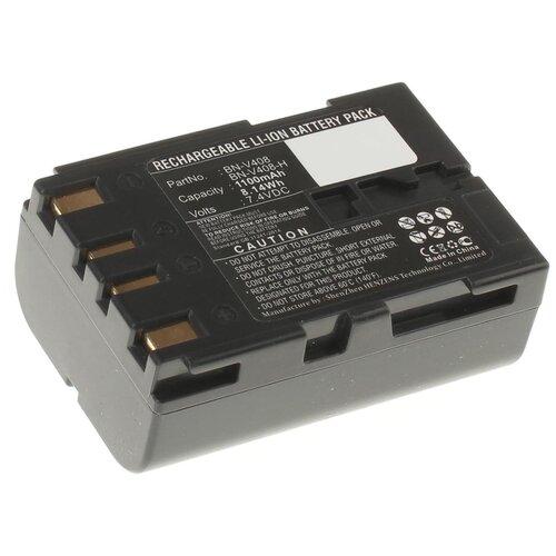 Аккумулятор iBatt iB-U1-F156 1100mAh для JVC GR-D23E, GR-DV4000, GY-HD100, GR-D73, GR-D20E, GR-DV500E, GR-D30E, GR-D53, GR-PD1, GR-DV3000, GR-D200, GR-D21, GR-D33, GR-D93, GR-DV1800, GR-DVL145, GR-DVL150, GR-DVL557,