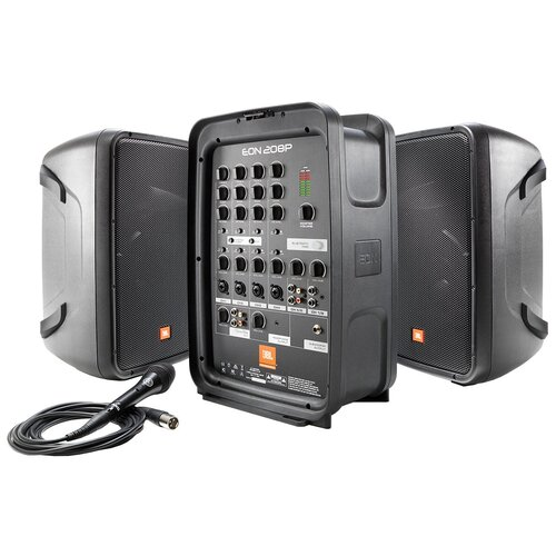 Напольная акустическая система JBL EON208P black