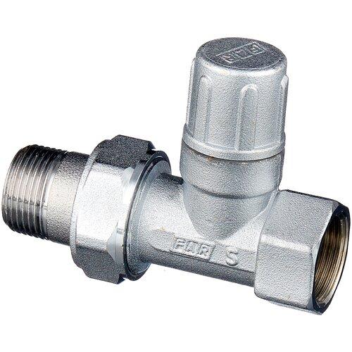 Фото - Запорный клапан FAR FV 1400 муфтовый (ВР/НР), латунь, для радиаторов Ду 20 (3/4) запорный клапан зубр ширефит 51571 20 муфтовый вр вр ду 20 3 4