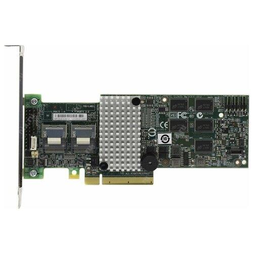Фото - Контроллер SAS/SATA RAID LSI Logic SAS 9260-8i зеленый sas sata raid контроллер