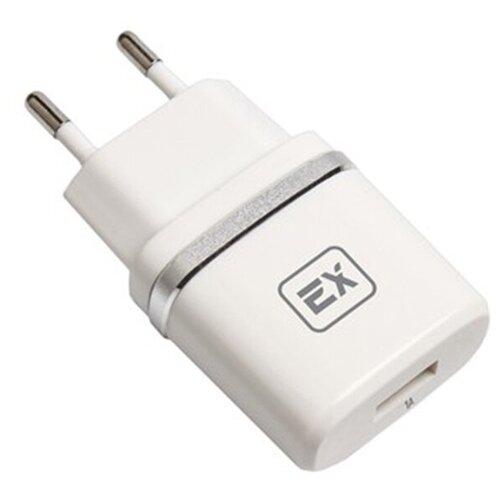 Фото - Зарядное устройство для телефона 1USB 1A Exployd Classic EX-Z-609 White зарядное устройство exployd classic 3 1a 2хusb type c white ex z 595