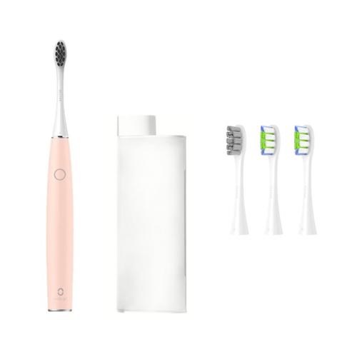 Электрическая зубная щетка Xiaomi Oclean Air 2 Sonic Electric Toothbrush Travel Suit Pink электрическая зубная щетка oclean air 2 sonic electric toothbrush зеленый