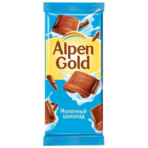 alpen gold шоколад молочный с соленым арахисом и крекером 5 шт по 85 г Шоколад Alpen Gold молочный, 85 г