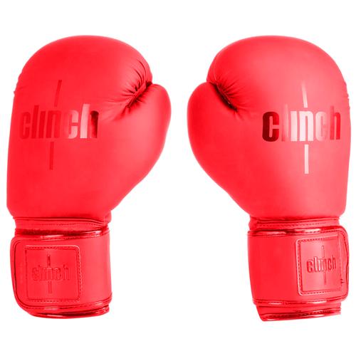 Боксерские перчатки Clinch Mist красный 12 oz