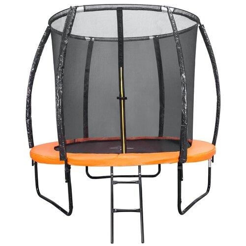 Фото - Каркасный батут DFC Kengoo 5FT-BAS-BO с лестницей оранжевый каркасный батут dfc trampoline kengoo ii 16ft bas bo оранжевый