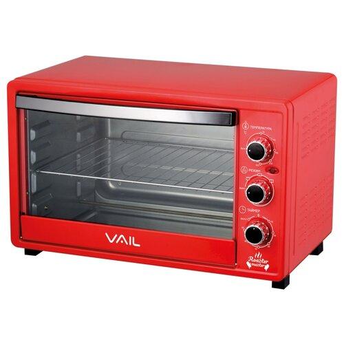 Мини-печь VAIL VL-5000 красный