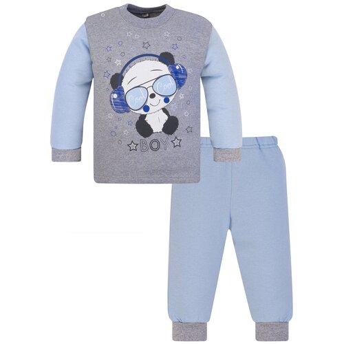 Комплект одежды Утенок размер 98, светло-голубой/меланж недорого