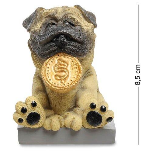 Статуэтка Собака Мопс Желаю богатства (W.Stratford) RV-904 113-904576