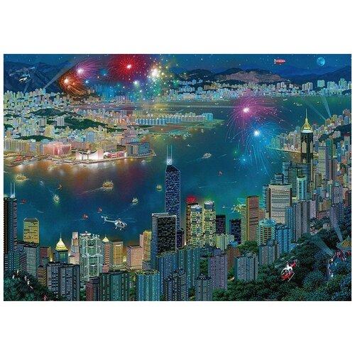 Schmidt Пазл Schmidt 1000 деталей: А.Чен Фейерверк в Гонконге
