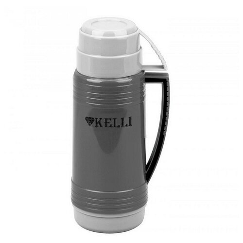 Классический термос Kelli KL-0943, 0.5 л кофейный